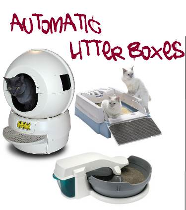 self cleaning litter boxes